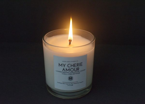 My Cherie Amour Candle | Soy Wax Candle | Mood Light Candle